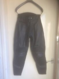 FOR SALE Ladies Leather Motorcycle Pants Size UK8
