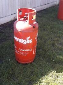 19kg propane gas bottle