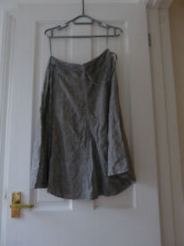 Linen skirt size 10