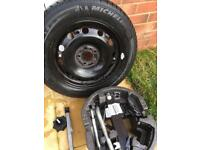 185 60 15 brand new Michelin tyre with new jack