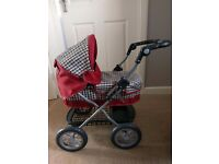 Childrens silver cross pram