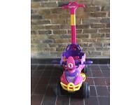 Injusa Buddy Pink Ride On/Push Along Quadbike