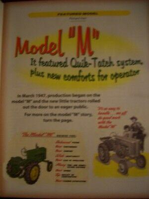 John Deere Model M tractor Green Magazine MT MC