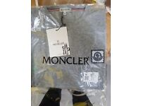 MONCLER mens t shirts imported wholesale clearance