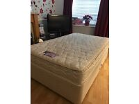 Silentnight miracoil 3 Supreme Small double divan bed with two storage drawers