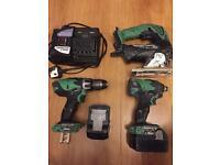 Hitachi 18v impact power tools