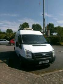 Ford transit fridge/freezer van