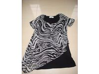 Two Ladies Tops Size 12 BRAND NEW