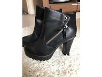 Just fab boots. Brand new. Size 8