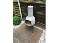 Garden fire chimney