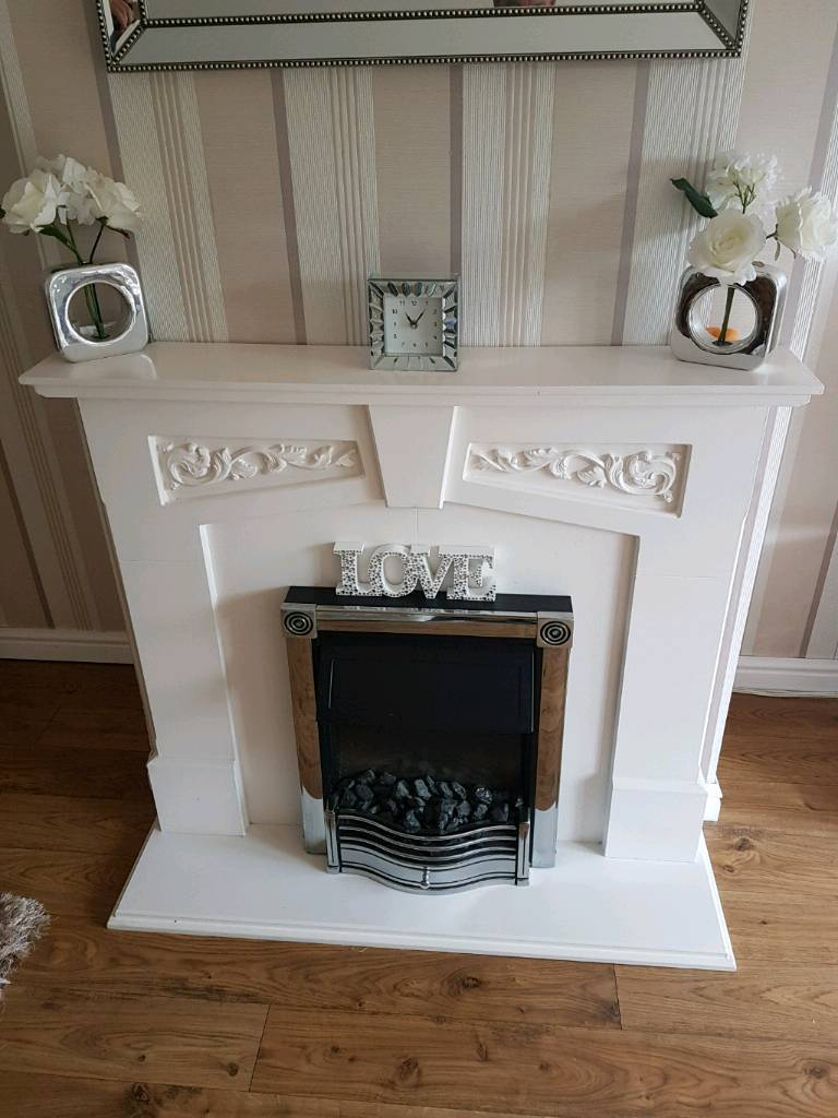Fire surround fire not included
