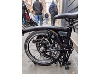 2016 Special Run All-Black Brompton Bicycle