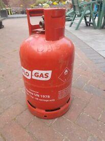 Propane 11kg BBQ Gas Bottle Screw in Regulator Type EMPTY (FLOW GAS)