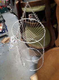 Metal Hanging Kitchen Basket storage