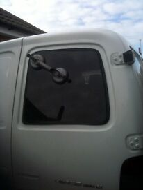 Van Windows conversion kit for putting windows into panel van