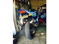 Suzuki gsxr 750 k4 dream machine racepaint