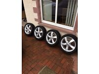 Audi A3 Winter Alloys & Tyres 205/50/R17/93H