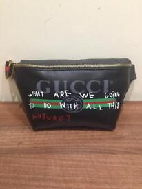 Gucci waist and chest bag