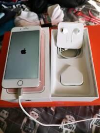 Iphone 7 plus gold unlocked 128gb