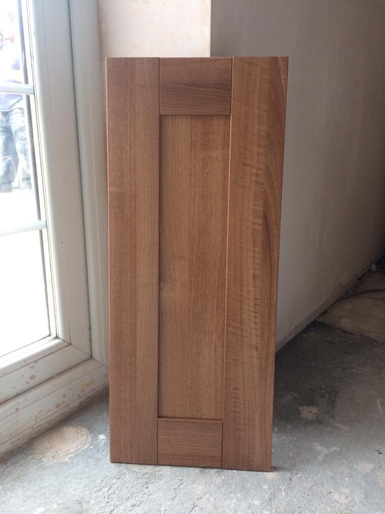 Walnut Shaker kitchen doors