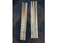 brass carpet door bars