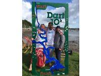 Volunteering with FRANK Water at Dart 10K 2018!