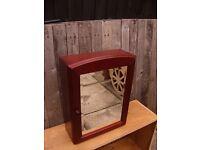 Wooden bathroom cabinet by Miller