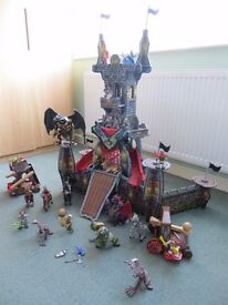 BOXED - ELC Tumble Rock Tower + many more Figures and accessories