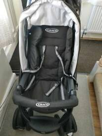 Graco dual pushchair