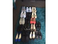 Joblot Of Womens Shoes Sizes Ranging From 5/6