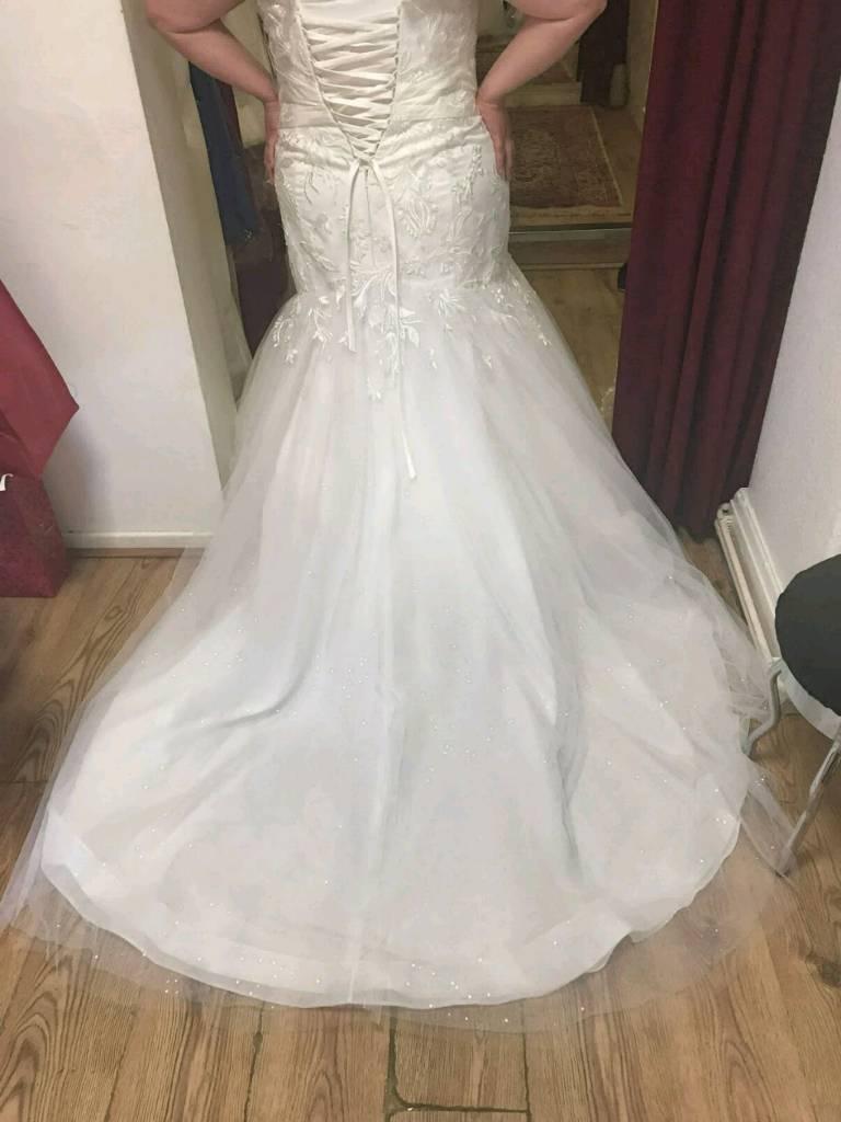 Ivory Wedding Dress Little Hulton Manchester GBP10000 Iebayimg 00 S MTAyNFg3Njg