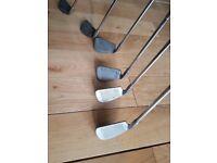 LYNX PARALLAX golf clubs iron set 3-9 PW SW