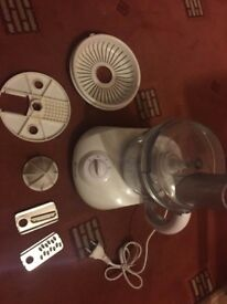 Atta maker, mixer, blender, chopper, juicer - NEW. Comes with all the parts and working order
