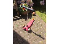 Pink mini micro scooter