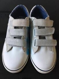 Next boys brand new canvas trainers size 5