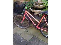 Ladies bike tyres good basket good sadle ready to enjoy