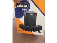 Computer 5.1 surrround sound speakers creative inc base box * bargain *