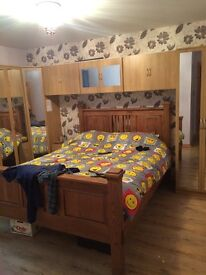 Fully furnished double room to rent in Glenavy
