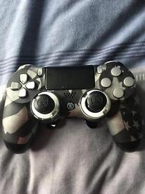 Scuff PlayStation controller with paddles at the back