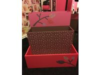 Girls bookcase/storage unit