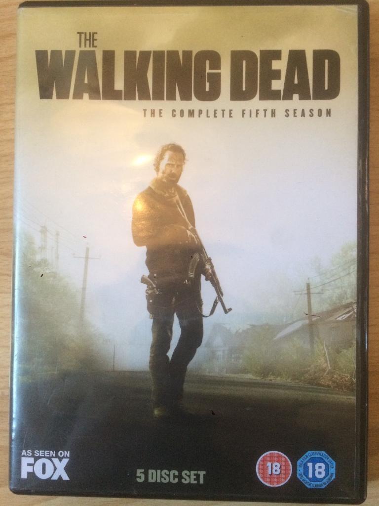 The Walking Dead Season 5 Disc Set
