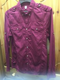 MENS SHIRT BY FIRETRAP LONG SLEEVE - BRAND NEW (SMALL SIZE)
