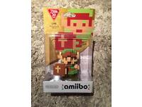 Brand new link 8 bit amiibo Zelda / Nintendo switch