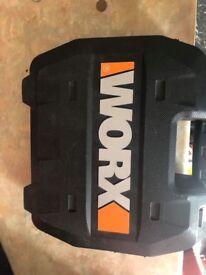 Worx brushless drill 20v 3 batteries