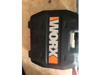 Worx brushless drill 20v 3 batteries