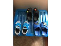 Kids Size C10 Nike Trainers & C10 Clogs