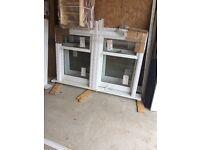 Brand new sash and case windows
