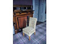 Rattan Dinning Chairs x 8.... £60