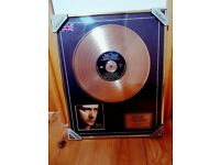 Phil Collins Gold Disc - Great Xmas Present