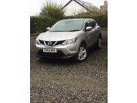 64 plate Nissan qashqai 1.5 acenta smart vision. Very economical